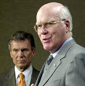 Democratic Chairman of the Senate Oversight Committee investigating the 2001 Anthrax attacks, Pat Leahy stated categorically that he simply does not believe that Ivins was the prime culprit if he was a participant at all, and said he is absolutely convinced that there were others involved in the preparation and mailing of the anthrax.